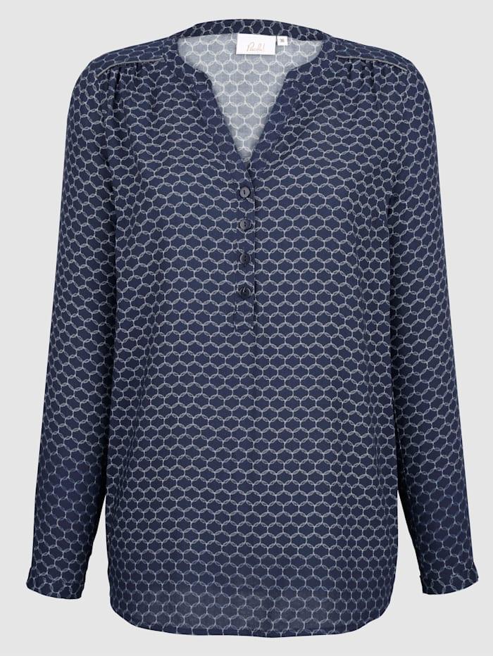 Tunika med grafiskt mönster