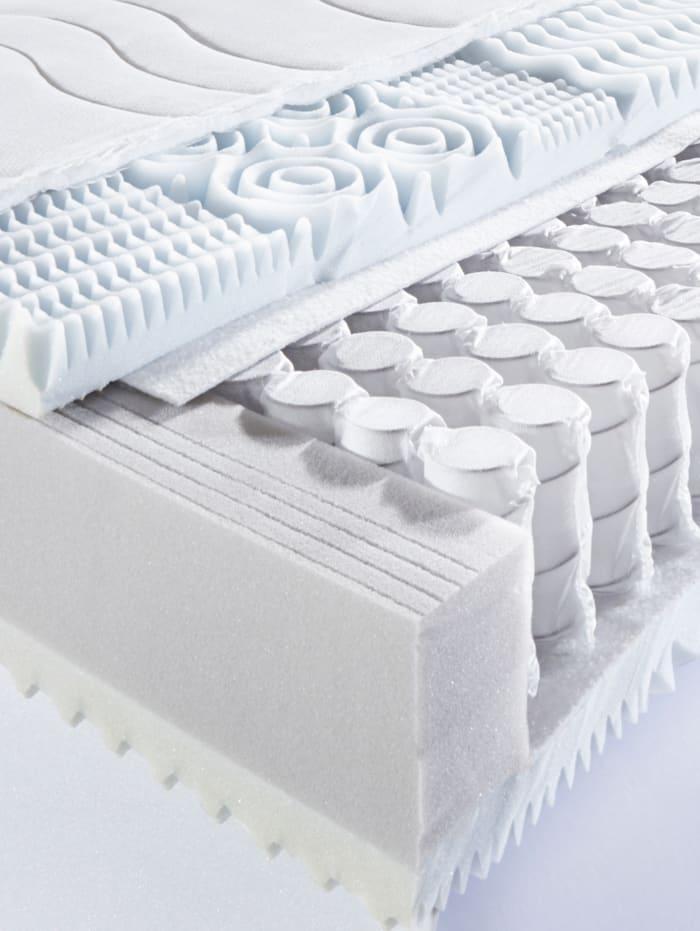 Tonnentaschenfederkern Matratze 7-Zonen 'Luxus Ausführung'