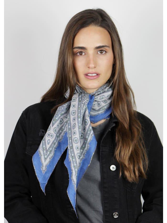 Premium Tuch aus Baumwolle und Seide