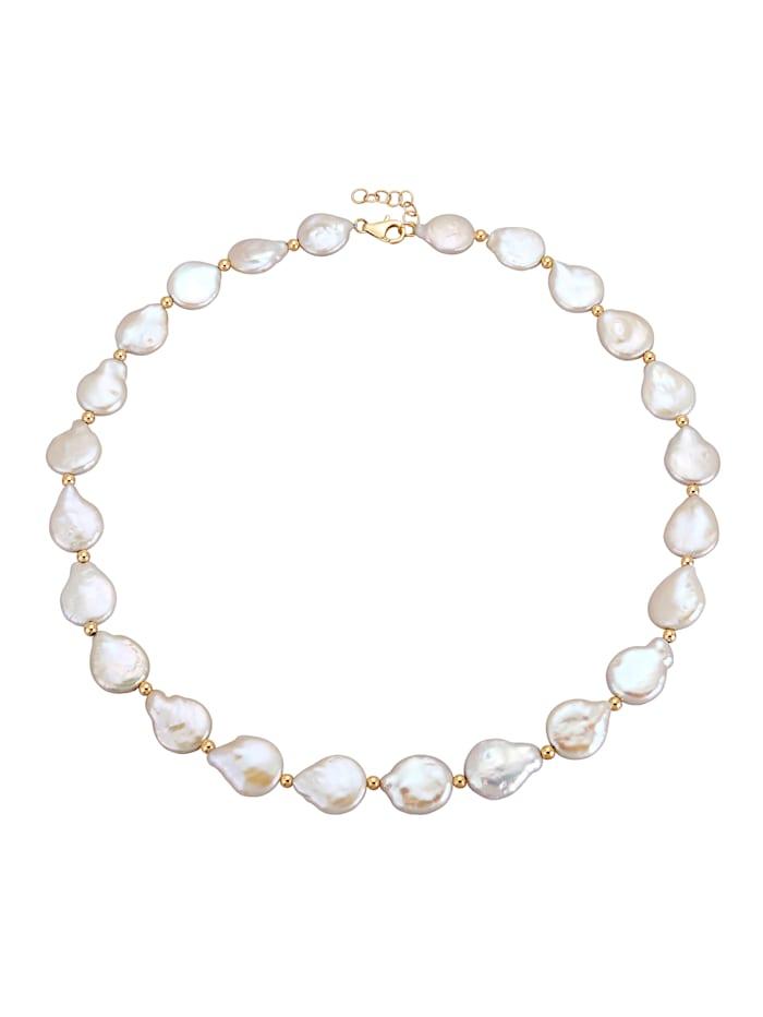 Halskette aus Biwa-Perlen