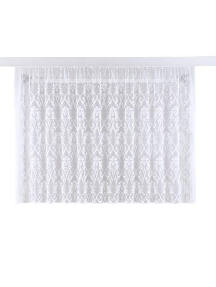 Webschatz Žakárová záclona 'Sofija', biela