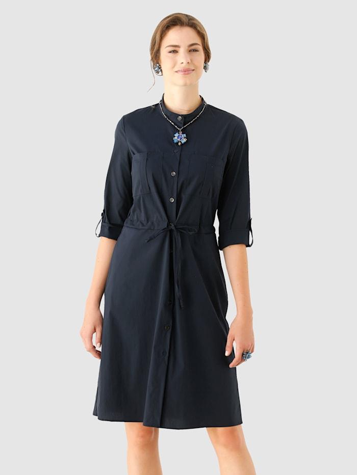 AMY VERMONT Kleid in edler Qualität, Marineblau