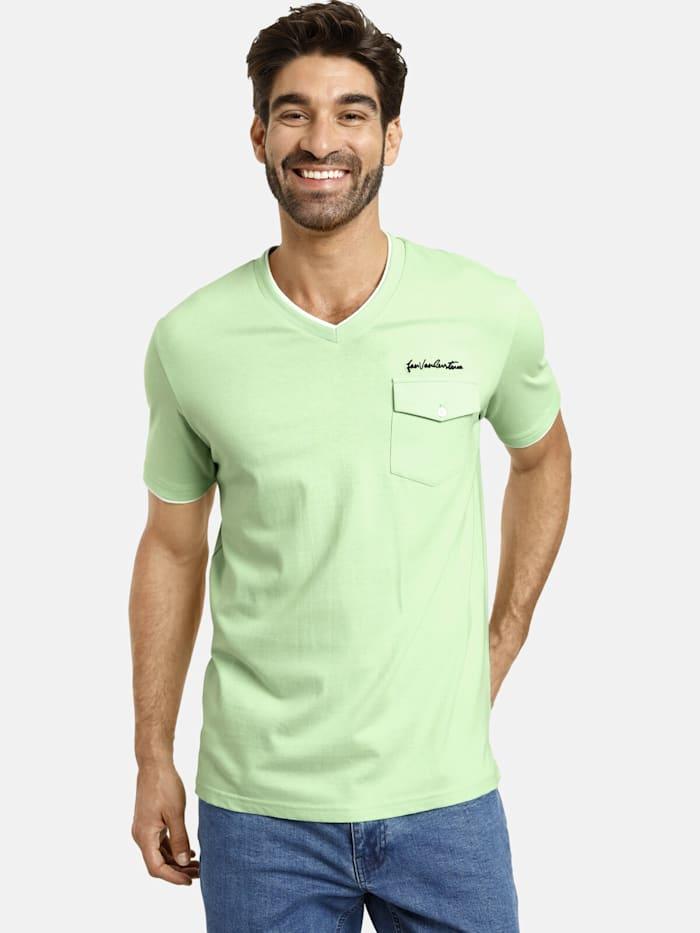 Jan Vanderstorm Jan Vanderstorm T-Shirt LENNARD, hellgrün
