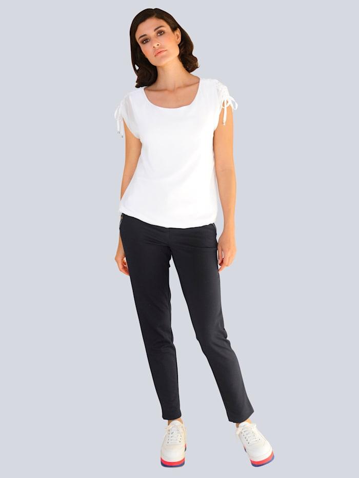 Hose aus konfektionierter, elastischer Jerseyqualität