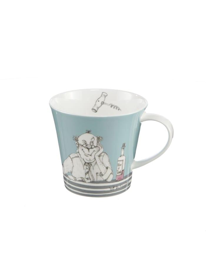 "Goebel Coffee-/Tea Mug Barbara Freundlieb - ""Männer sind wie Wein"""