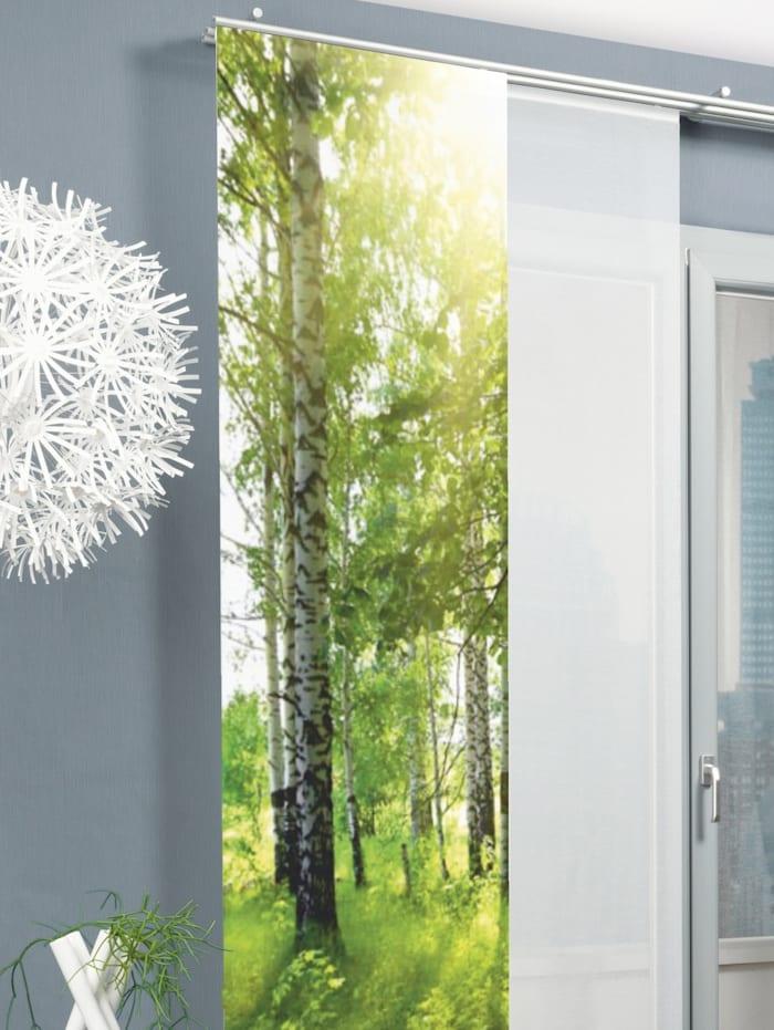 """Home Wohnideen Panneau japonais """"NEW CASTLE"""", Vert"""