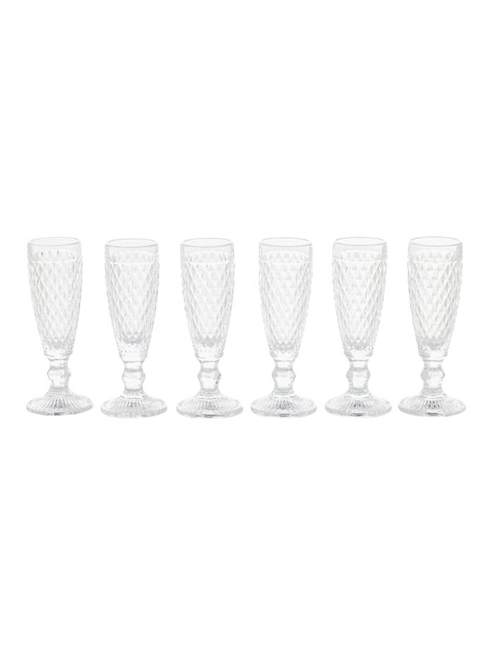 IMPRESSIONEN living Glas-Set, 6-tlg., klar, Sektglas-Set