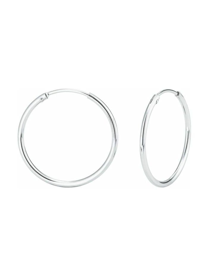 amor Creole für Damen, Sterling Silber 925, Silber