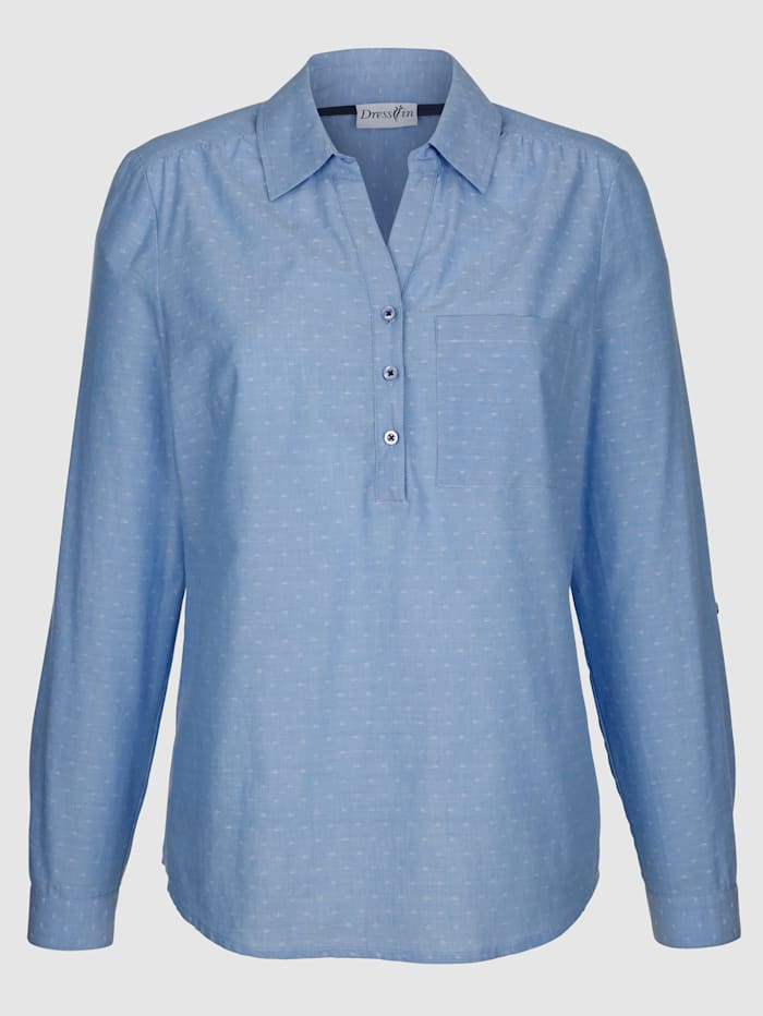 Puuvillainen paitapusero