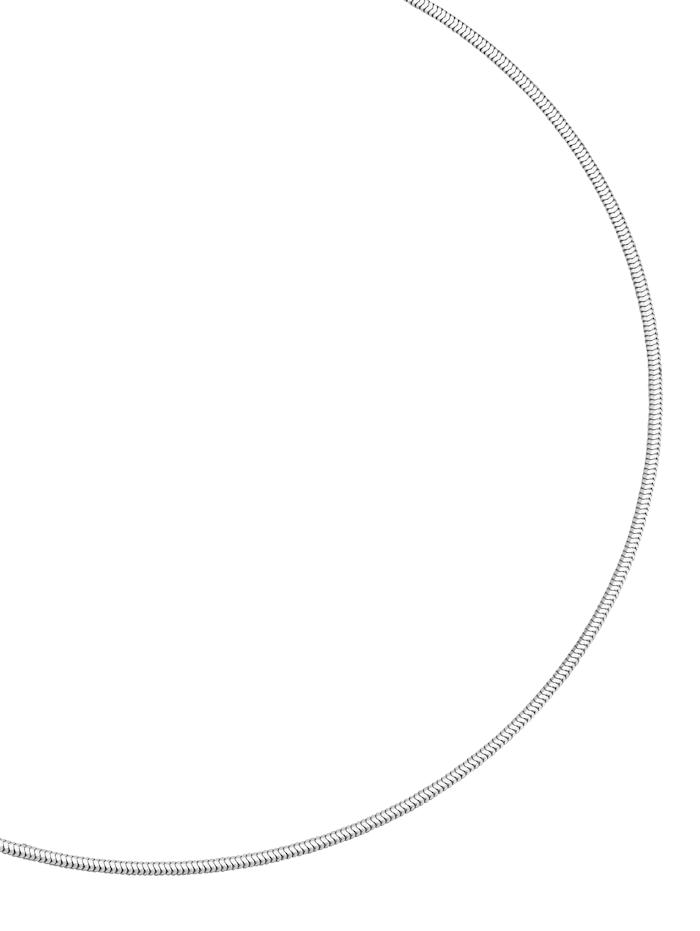Diemer Silber Slangenketting, Wit