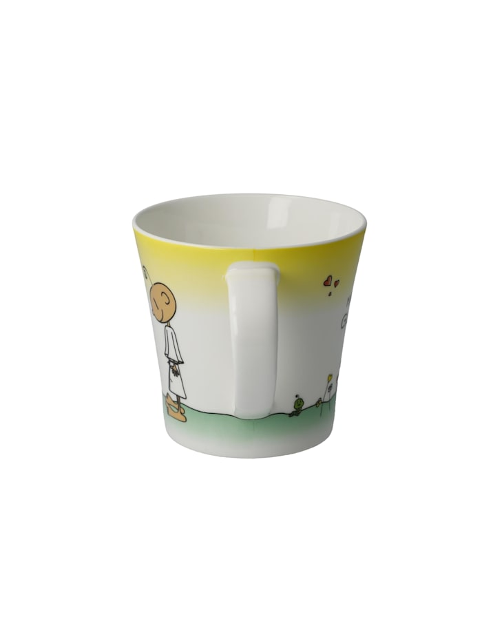 "Goebel Coffee-/Tea Mug Der kleine Yogi - ""Glücklich"""
