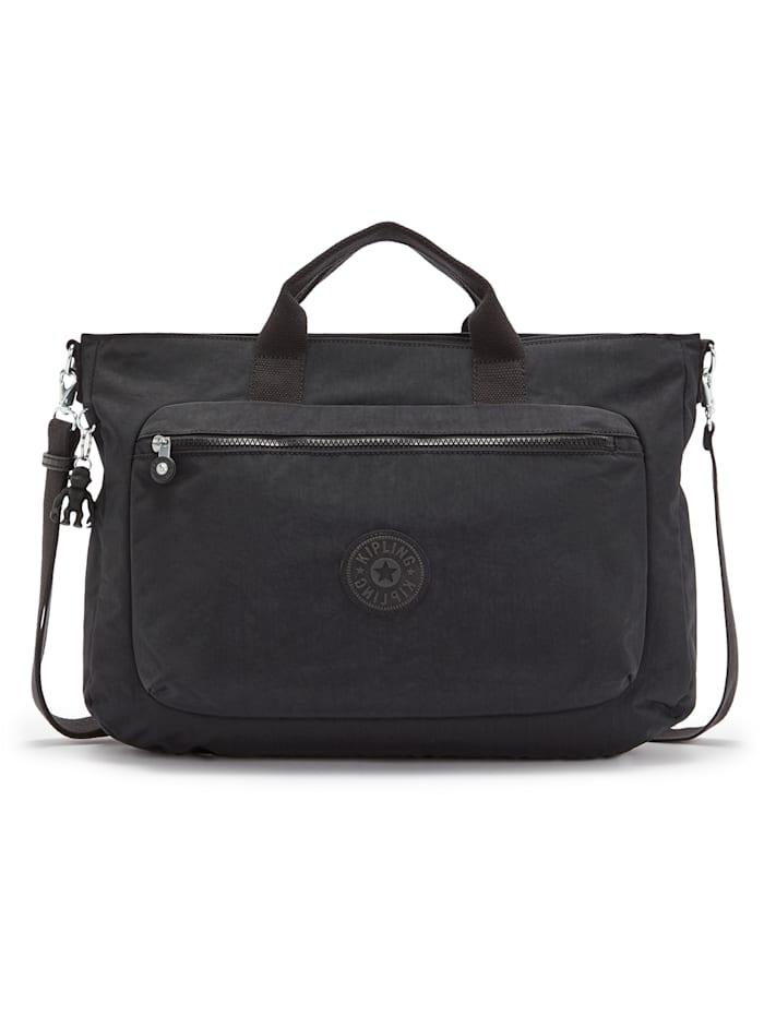 Kipling Basic Miho M Handtasche 40 cm Laptopfach, black noir