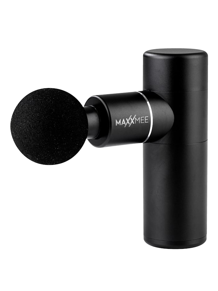 DS Produkte Mini-massageapparaat 4 opzetstukken, Zwart