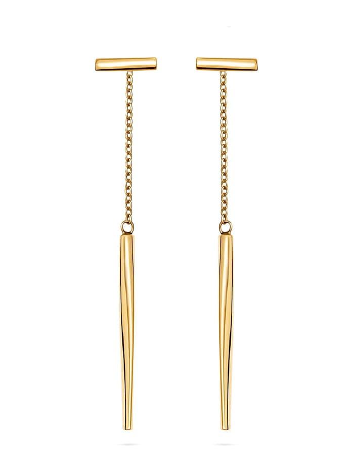 CHRIST GOLD CHRIST Gold Damen-Ohrstecker 375er Gelbgold, gelbgold