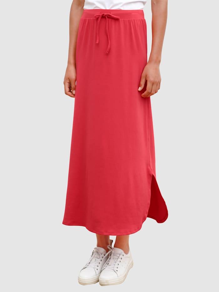 Dress In Jupe en jersey avec fentes côtés, Rouge