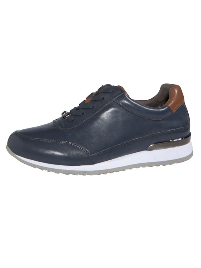 MONA Lace-up shoes in a unique design, Dark Blue
