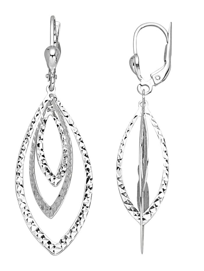 KLiNGEL Ohrringe in Silber 925, Silberfarben