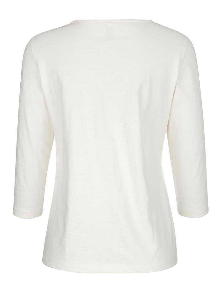 Shirt mit modernem Frontdruck