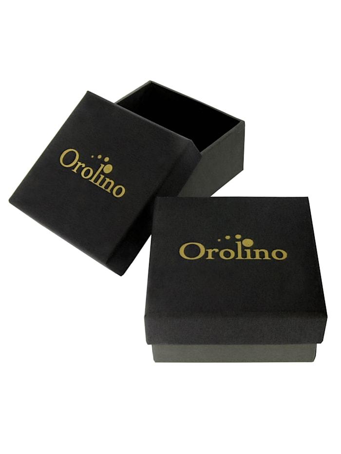 Ohrstecker 585/- Gold Süßwasserzuchtperle Weiß 1,0cm Glänzend 585/- Gold