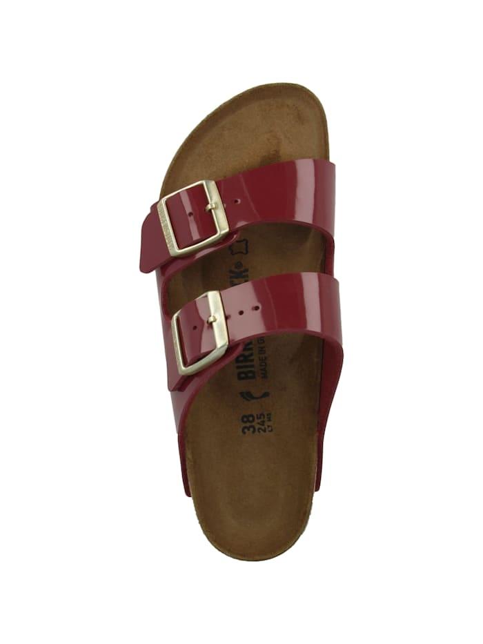 Sandale Arizona Birko-Flor Lack schmal