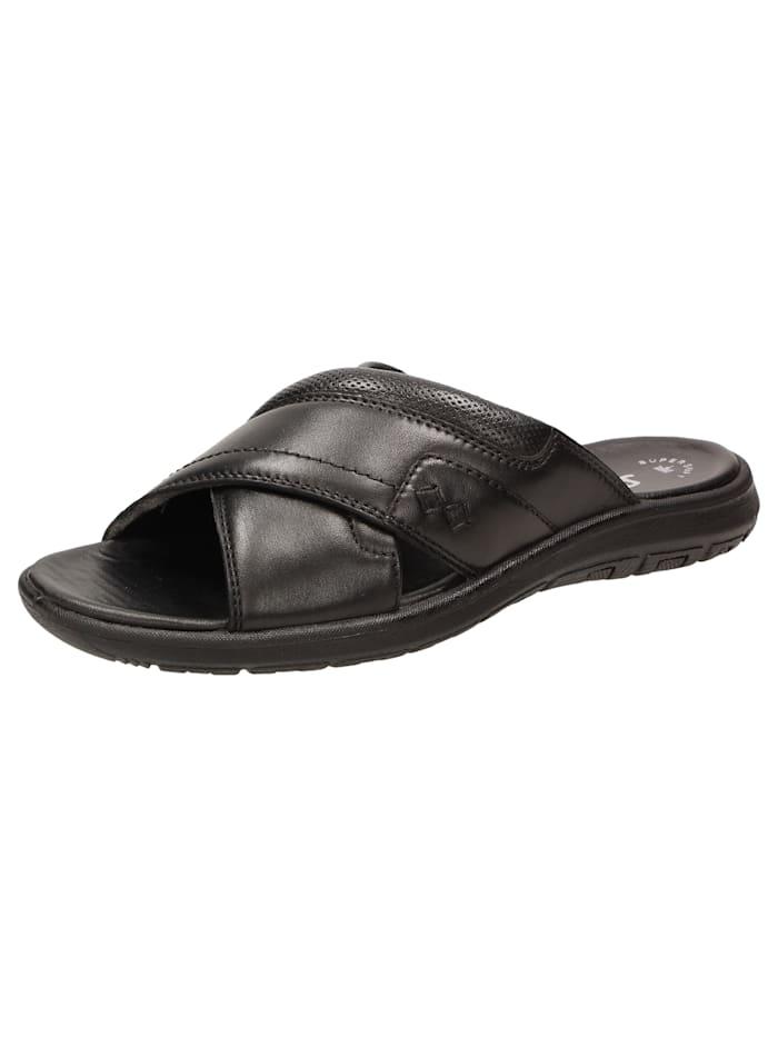Sioux Sandale Lutalo-700, schwarz