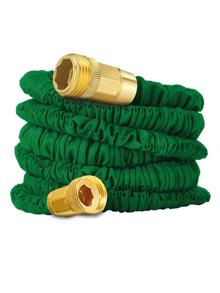 HSP Hanseshopping Fleksibel hageslange 30 meter, grønn
