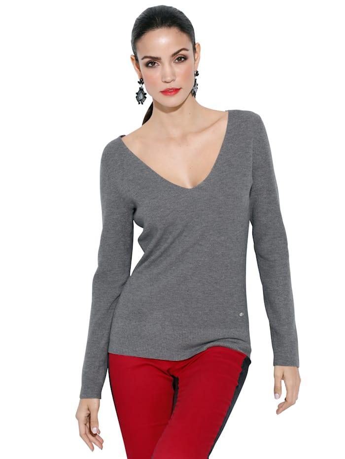 Pullover mit verkreuzten Bändern im Rücken