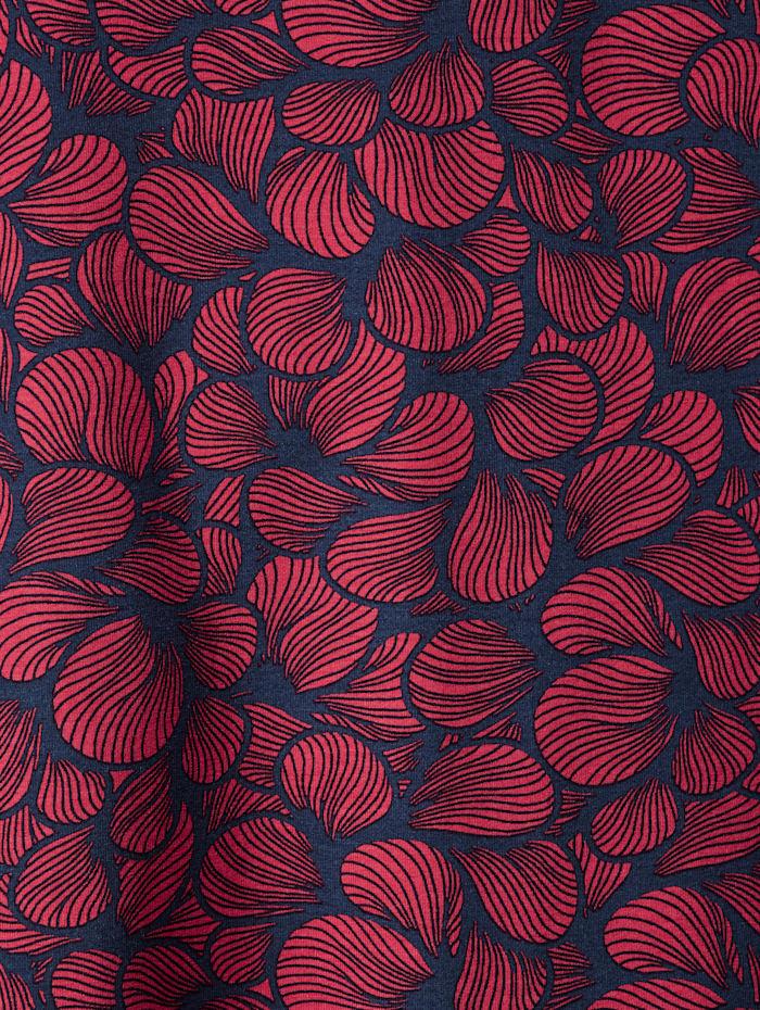Longtop mit Blumen-Print