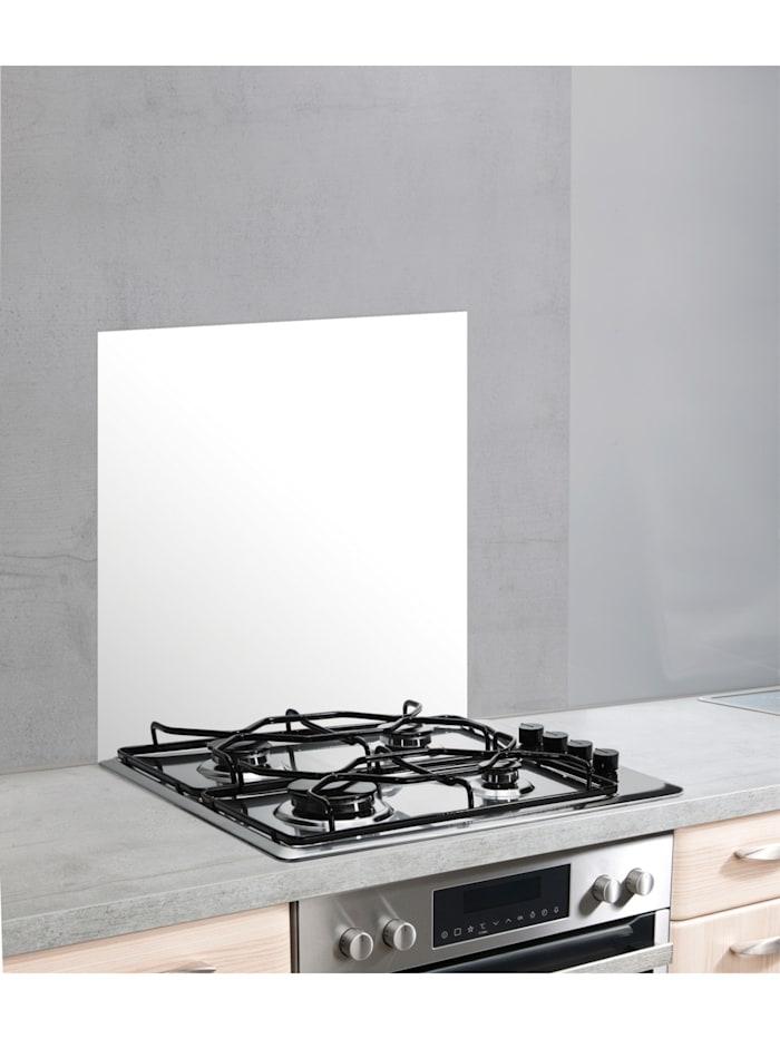 Glasrückwand Weiß 60 x 70 cm