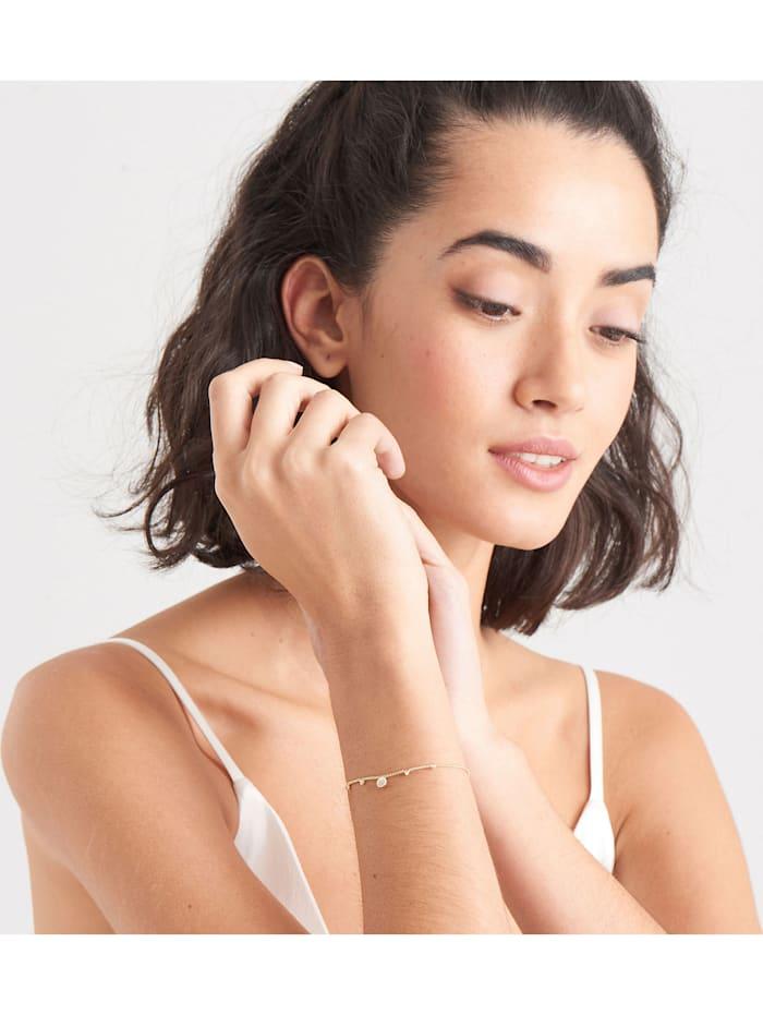 Ania Haie Damen-Armband 925er Silber Farbstein