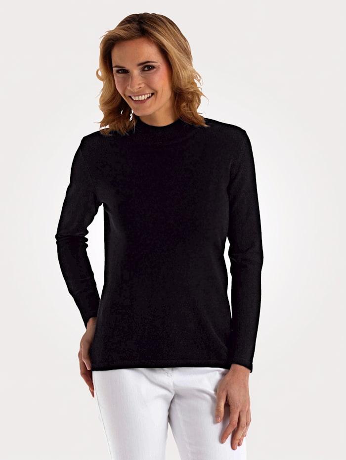 MONA Pullover in Traumhaft-Qualität, Schwarz