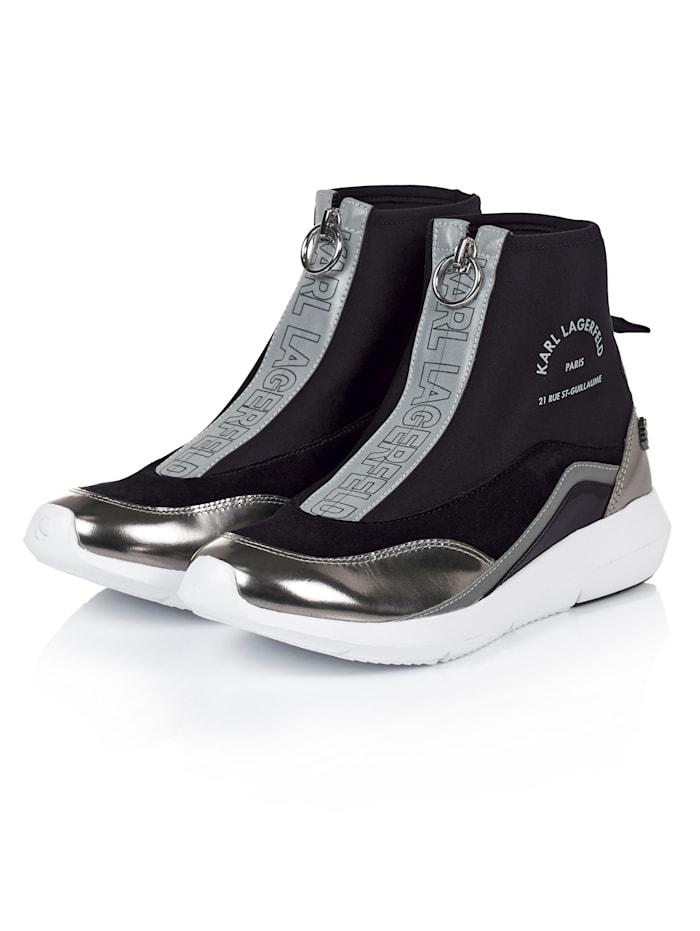 Karl Lagerfeld Socksneaker, Schwarz