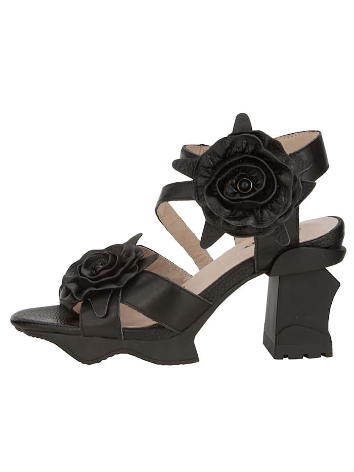 Sandales à plateau à bride auto-agrippante au cou-de-pied