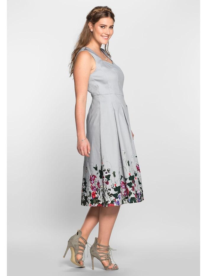 sheego by Joe Browns Kleid in A-Linie mit Blütendruck
