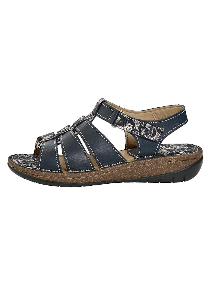 Sandales à bandes auto-agrippantes
