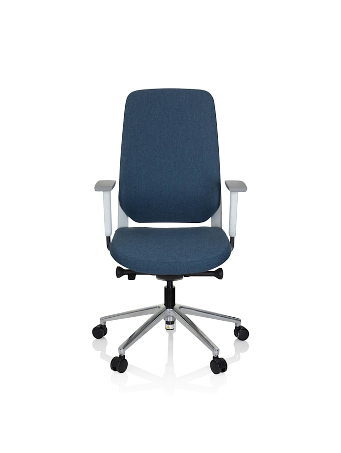 hjh OFFICE Profi Bürostuhl CHIARO T4 WHITE, Blau