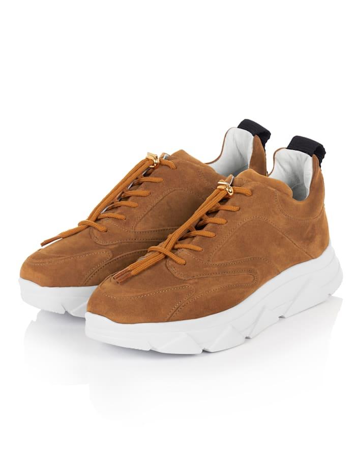 Pavement Sneaker, Camel