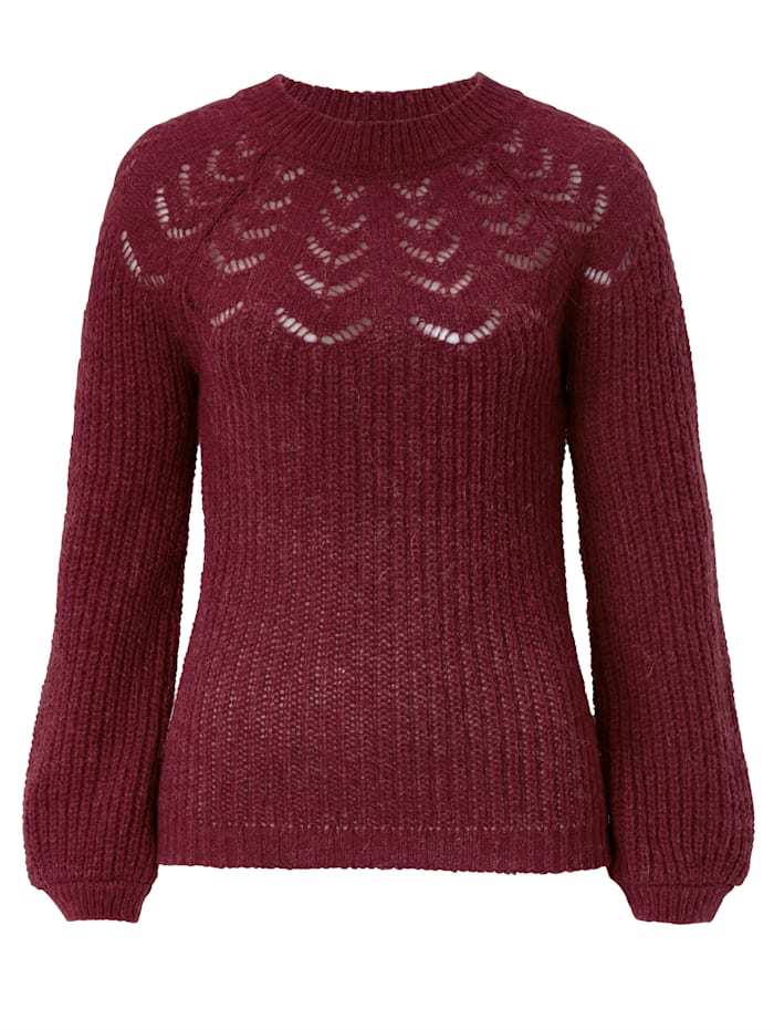 SIENNA Pullover, Bordeaux