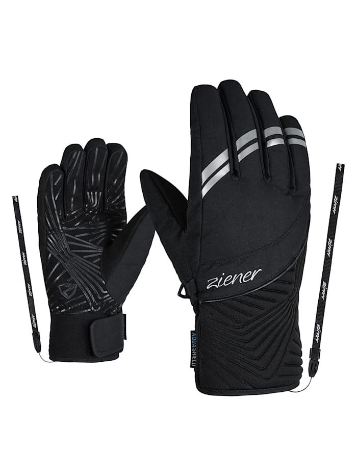 Ziener KIWA AS(R) lady glove, Black