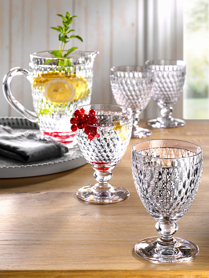Villeroy & Boch Set van 4 glazen, kleurloos