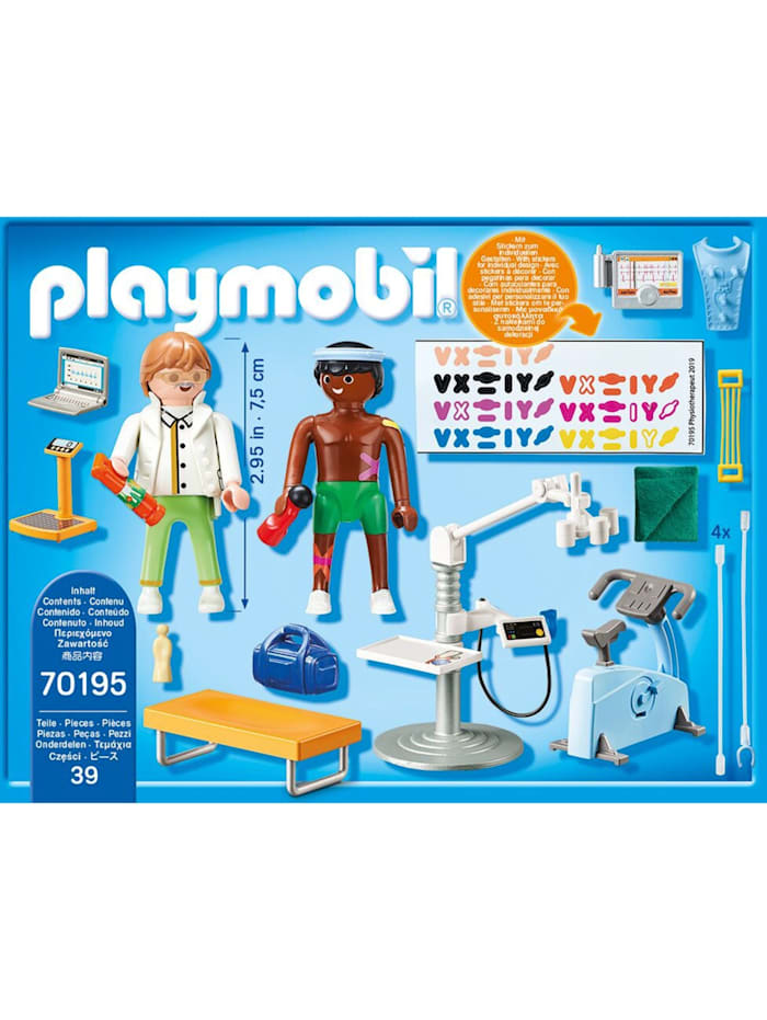 Konstruktionsspielzeug Beim Facharzt: Physiotherapeut