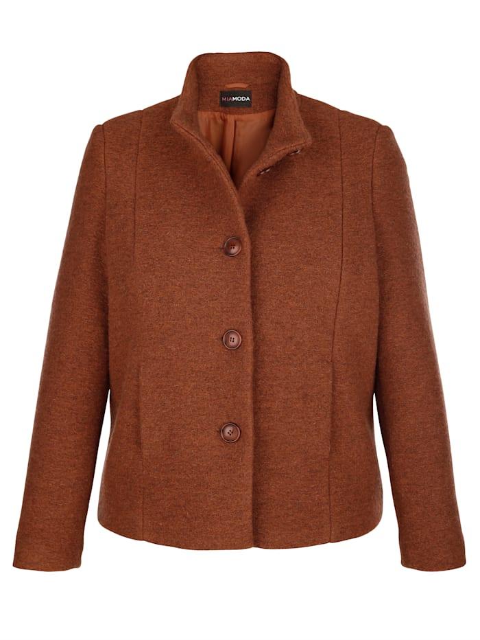 Veste en laine mélangée de qualité