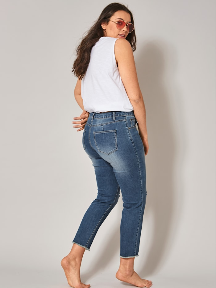 Slim Fit Jeans middle blue denim