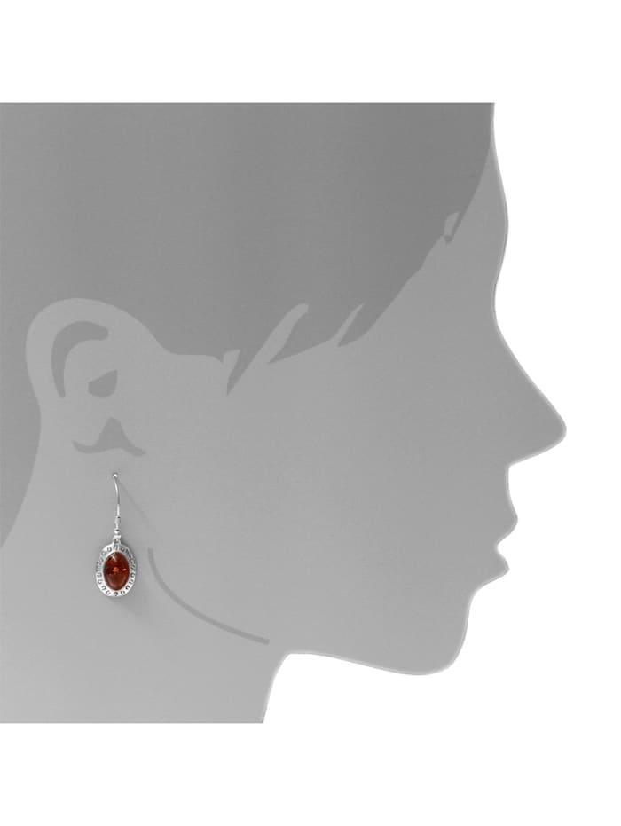 Ohrhänger - Michelle - Silber 925/000 - Bernstein