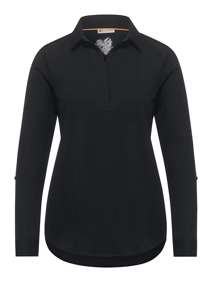 Street One Bluse im Business-Style, Black