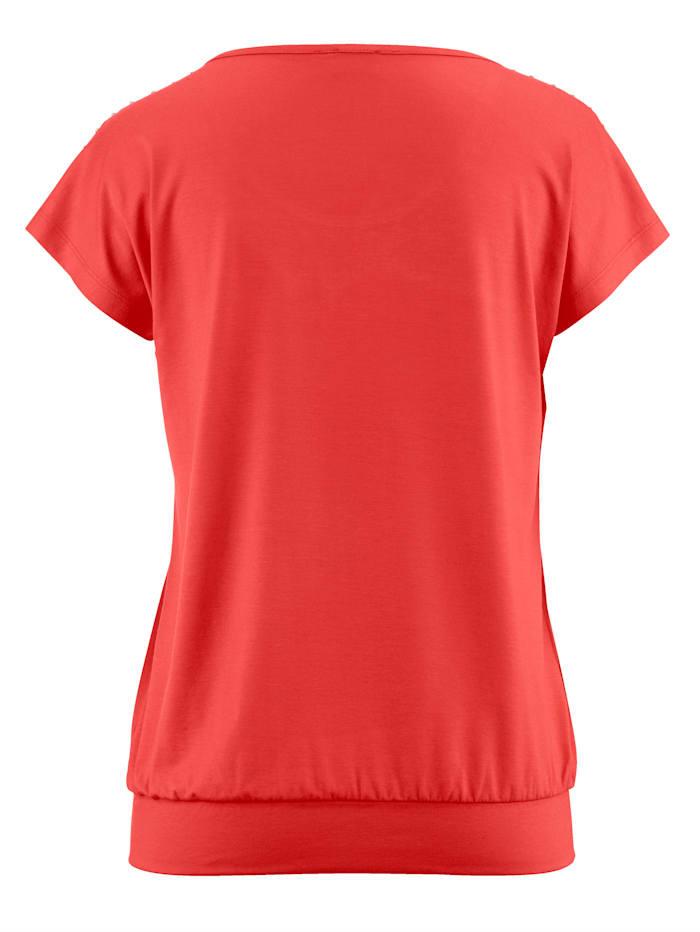 Shirt mit Nietenverzierung
