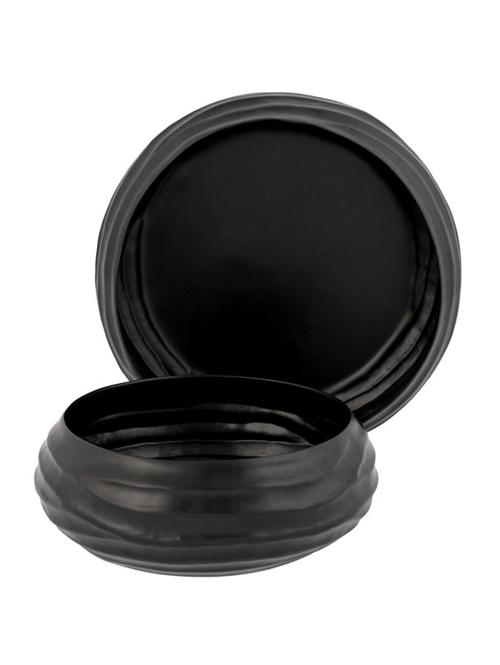 IMPRESSIONEN living Lot de 2 bols, Noir