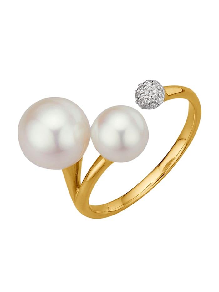 Amara Perles Bague, Blanc