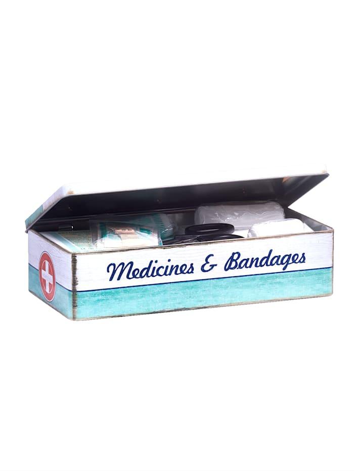 Sett med 2 medisinbokser
