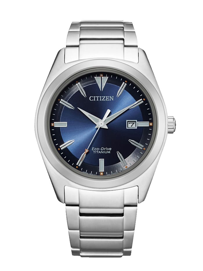 Citizen Herrenuhr Eco-Drive AW1640-83L, Silberfarben